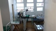 REALIZAN DESINFECCIÓN EN LOS HOSPITALES DE QUEBRADA Y RAMAL