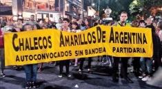Argentina tiene sus propios Chalecos Amarillos para enfrentar el ajuste