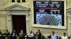 Diputados dio media sanción al proyecto que recorta las jubilaciones de privilegio