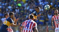 Boca le ganó a Unión y quedó como único líder de la Superliga