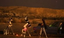 """En El Carmen """"Observando el Universo en los Diques"""", Primer Campamento Provincial de Observación Astronómica"""