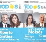 La Secretaría Electoral oficializó las listas: El Frente de Todos irá con Carolina Moisés y Julio Ferreyra