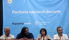 Paritaria nacional docente: hubo acuerdo entre el Gobierno y los gremios