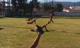 Cuatro clubes de la provincia volvieron a los entrenamientos bajo un estricto protocolo
