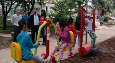 MINI GYM EN EL PARQUE SAN MARTÍN: San Salvador es el 3º municipio de Argentina en incorporar estos espacios