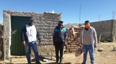 Adultos mayores de Yavi recibieron kits de bioseguridad