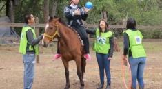 Solidaridad Jujuy: Buscan un predio para los niños que se rehabilitan con Equinoterapia