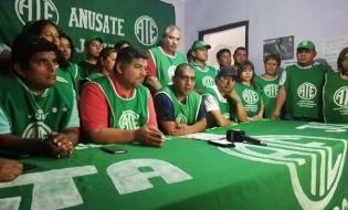 La lista Verde Anusate fue oficializada como ganadora de las elecciones en ATE