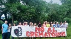 Impulsan campaña para impedir la instalación del crematorio en el bosque nativo de Los Paños