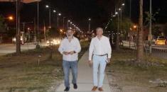 Alto Comedero: La Av. Forestal cuenta con nueva iluminación led