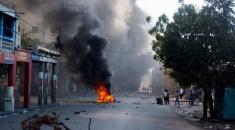 Holeada de protestas y la crisis socioeconómica en Haití