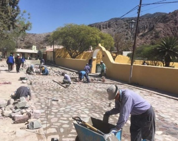 Realizan obras en toda la provincia, se incluyen las localidades de Maimará y Tumbaya, Puesto Sey y Casira