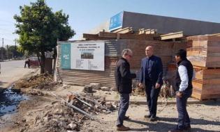 Avanza la construcción de la nueva Comisaría 33 en Alto Comedero